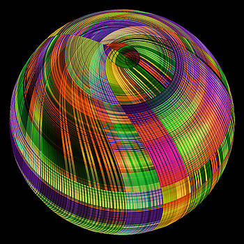 Colorful  One Sphere  by Grace Iradian