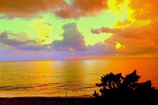Henryk Gorecki - Colorful Sunset on the Black Sea