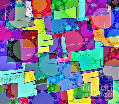 Colors Circles Lines by Dee Winslow