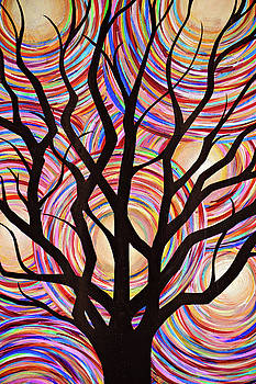 Colors With Abstract by Dennis Dugan