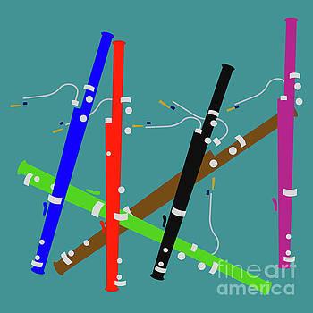 Benjamin Harte - Colourful bassoons