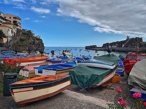 Colourful Boats by Fabio Gomes Freitas