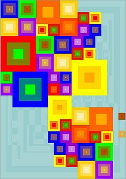 Colourful Cubism  by Arttantra