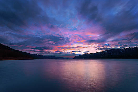 Columbia River Gorge Sunset by Brian Knott Photography
