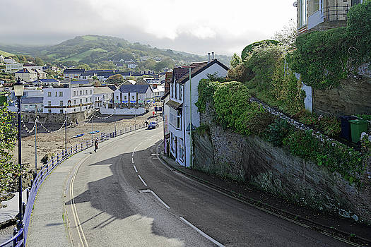 Combe Martin - Beach and Village by Rod Johnson