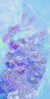 Comely Coneflower Painting by Lisa Kaiser