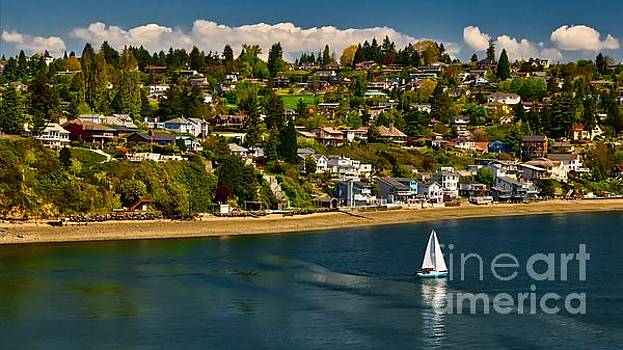 Commencement Bay,Washington State by Sal Ahmed