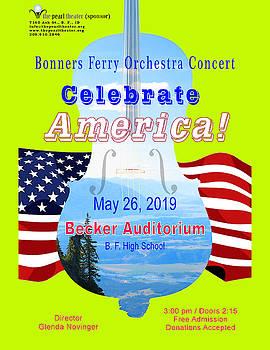 Concert Poster by Robert Bissett