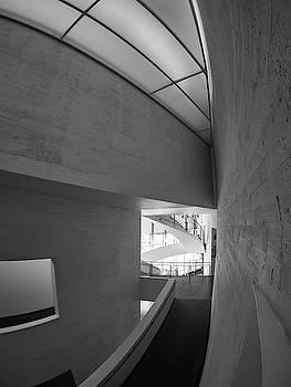 Concrete. Kiasma Modern Art Museum BW by Jouko Lehto