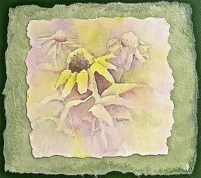 Coneflower Trio by Carolyn Rosenberger