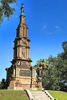 Confederate War Memorial Savannah Georgia by Carol Montoya