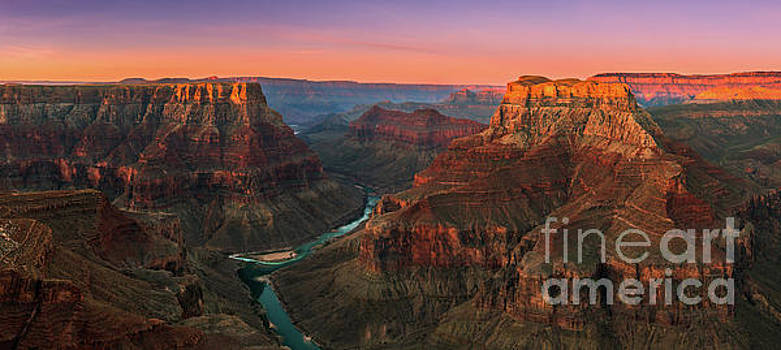 Confluence Point, Grand Canyon N.P, Arizona, Pano by Henk Meijer Photography