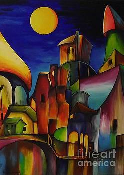 Confused City by Lia Van Elffenbrinck