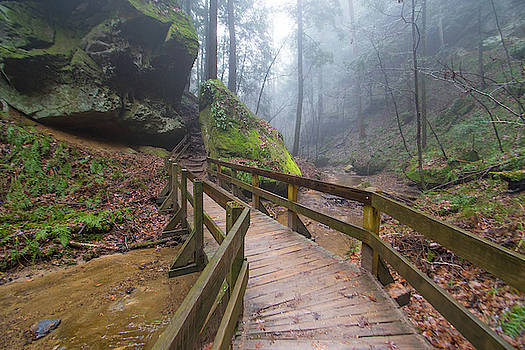 Conkle's Hollow, Hocking Hills State Park, OH by Ina Kratzsch