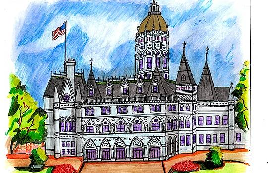 Conn State House by Paul Meinerth