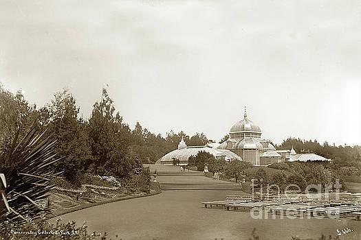 California Views Mr Pat Hathaway Archives - Conservatory Golden Gate Park  San Francisco Circa 1887