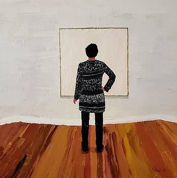Contemplation  by Escudra Art