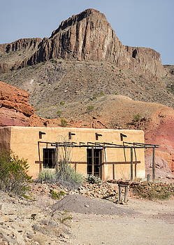 Contrabando Ghost Town, Big Bend Ranch State Park by Lu Prescott