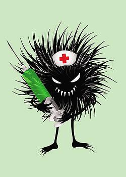 Cool Evil Bug Nurse by Boriana Giormova