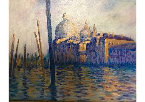 Copy of Monet's View of Venice by Dan Koon
