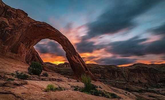 Corona Arch at Sunrise by Marybeth Kiczenski