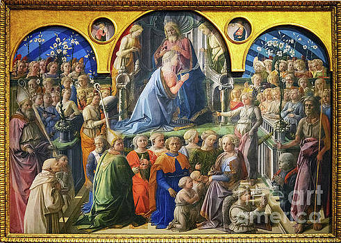 Wayne Moran - Coronation of the Virgin Coronation of the Virgin Uffizi Gallery Florence Italy
