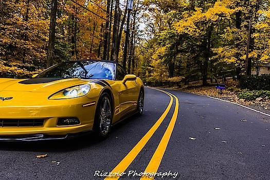 Corvette fall drive by Alan Rizzolo