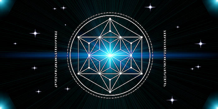 Cosmic Sacred Geometry by Nathalie DAOUT