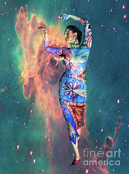 Cosmic woman by Robert McAlpine