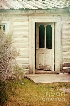 Cottage Door Open by Jill Battaglia