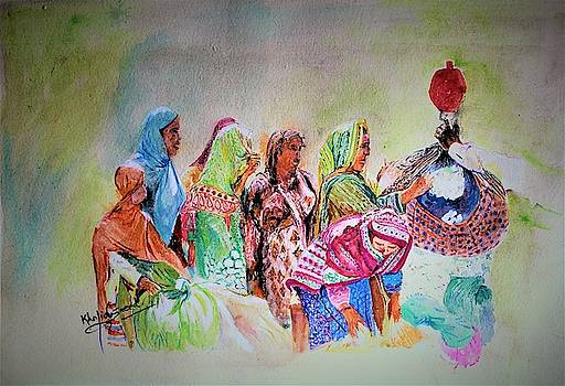 Cotton colors by Khalid Saeed