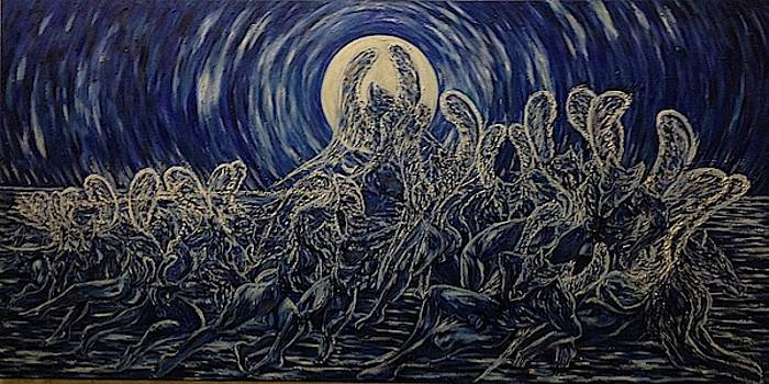 Council of Steppenwolf by Claude Edwin Theriault