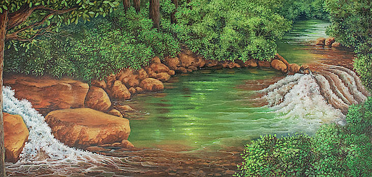 Country Creek by Teresa Frazier