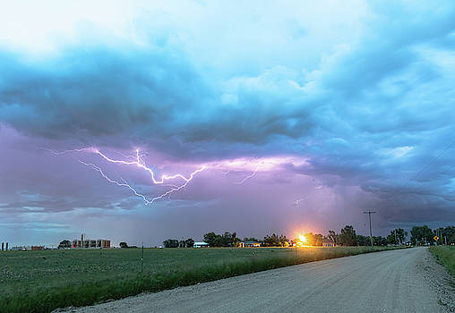 Country Dirt Road Storm by James BO Insogna