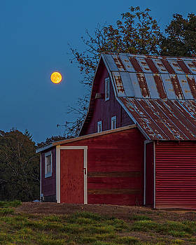 Country moon. by Ulrich Burkhalter