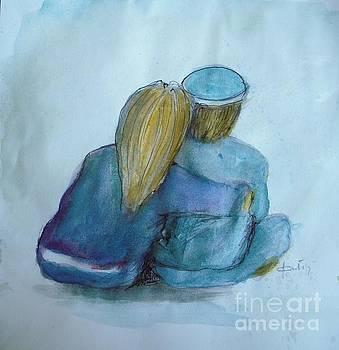 Couple in Love by Vesna Antic