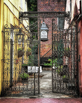 Susan Rissi Tregoning -  Court of the Two Sisters Courtyard Gate