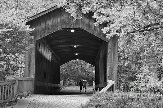 Covered Bridge of Ada Township, Michigan by Tony Lee