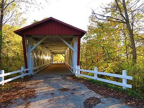 Covered Bridge Ohio by Vijay Sharon Govender