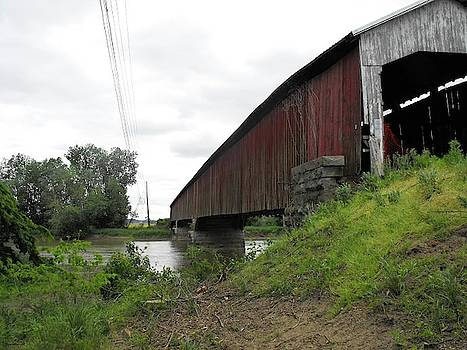 Covered Bridge by Stacey Wells