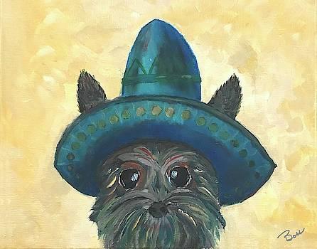 Cowboy Bandit Puppy by Brenda Boss