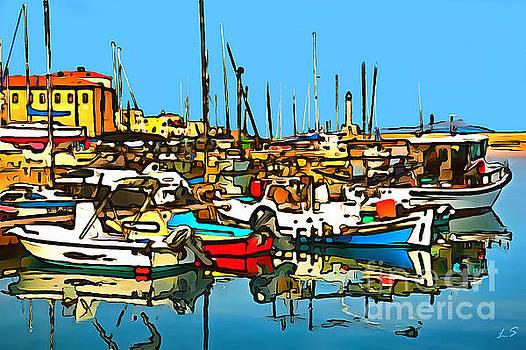 Cozy Harbor by Sergey Lukashin