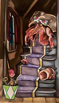 Crab Climbing by Tiffany Brazell