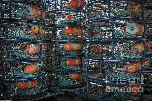 Crab Pots by Mitch Shindelbower