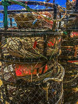 Crab Pots Staged N Ready by Christina Ford