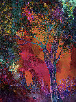 Crackle Tree by Ruth Palmer