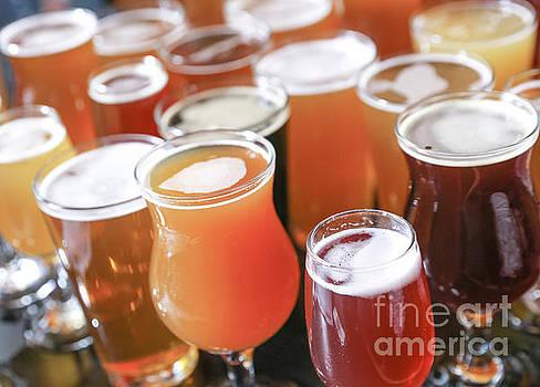 Craft Beer Varieties by Eddie Hernandez
