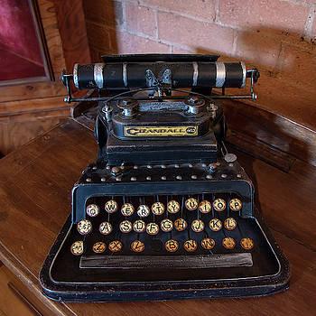 Crandall No3 typewriter by Steev Stamford