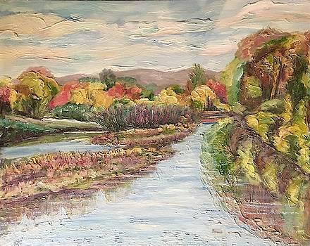 Crane Mill Pond by Richard Nowak