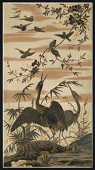 Daniel Hagerman - CRANES and BIRDS at POND 2  1880